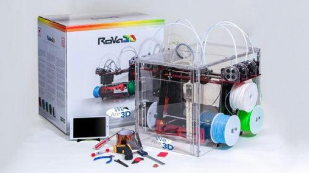 RoVa3D Performance printing package – 5 nozzle FFF printer with all the accessories