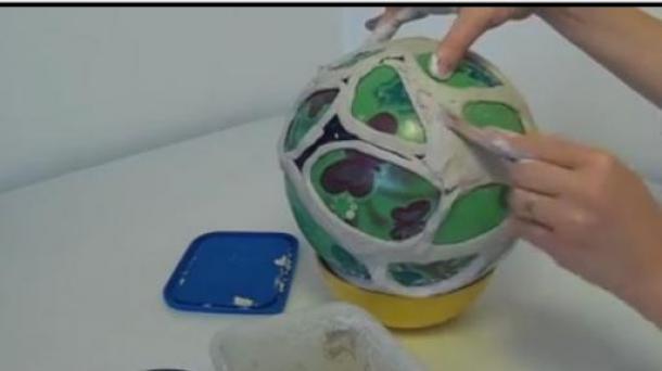 AWSOME DIY Cellular Organic Lampshade Without A 3D Printer