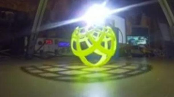 Awesome Stereographic projection!