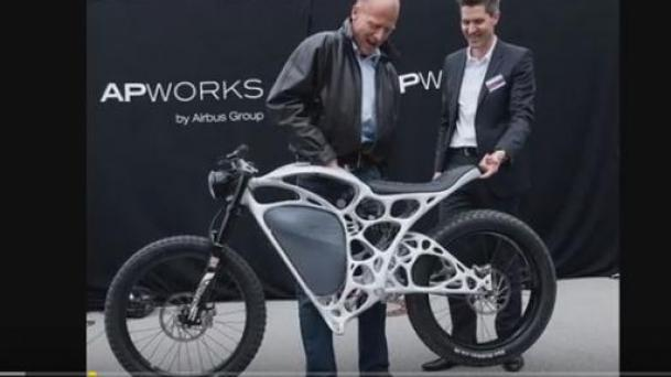 Light Rider World's First 3D Printed Motorcycle
